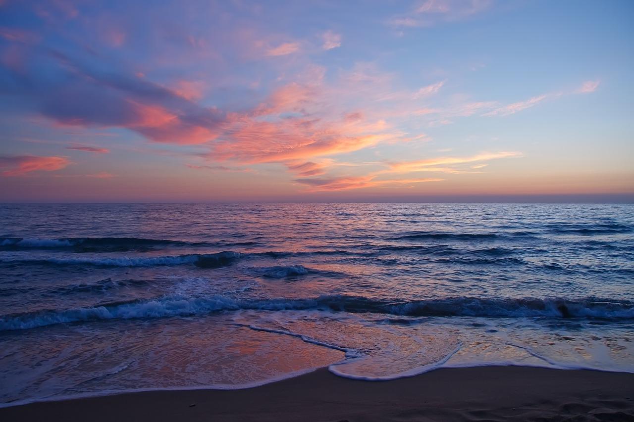 sea, wave, beach